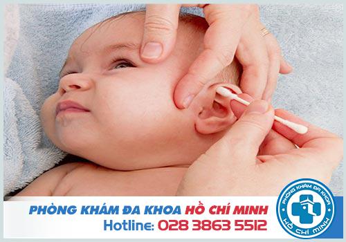11 Mẹo chữa viêm tai giữa cho bé hiệu quả và an toàn