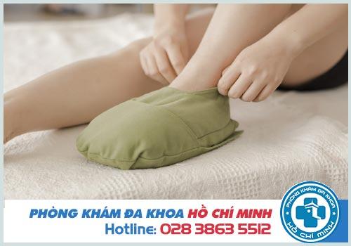 5 Cách trị ngón chân bị sưng tại nhà