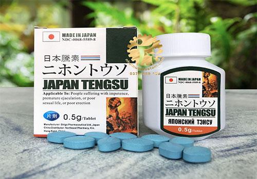 6+ Thuốc tăng cường sinh lý nam của Nhật Bản