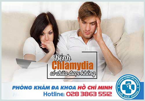 Bệnh chlamydia có chữa khỏi được không?
