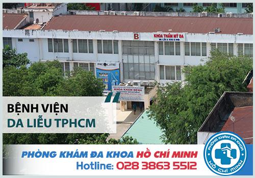 Bệnh viện da liễu TPHCM trị sùi mào gà có hiệu quả không