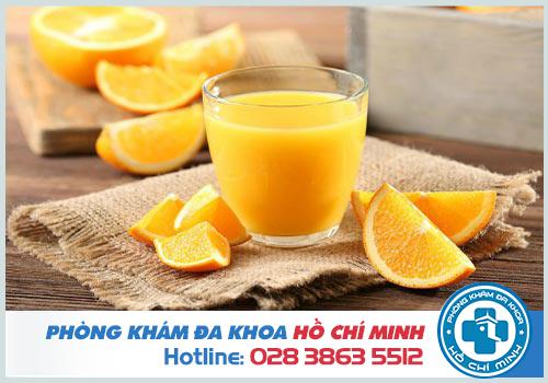 Cắt amidan có được uống nước đá? Uống nước cam được không