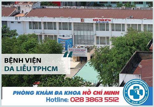 Chi phí khám Bệnh Viện Da Liễu TPHCM