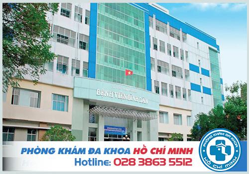Chí phí khám nam khoa ở bệnh viện Bình Dân do chất lượng quyết định