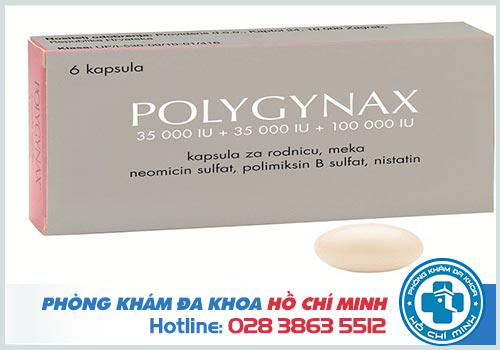 Đặt thuốc polygynax bị chảy ra ngoài có sao không