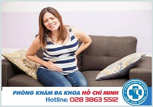 Đau bụng dưới khi mang thai tháng thứ 4 phải làm gì?