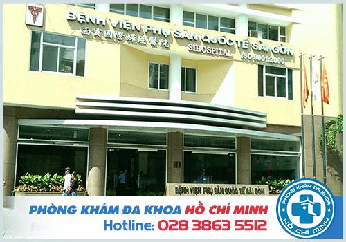 Bệnh viện Phụ Sản Quốc Tế Sài Gòn là địa chỉ khám phụ khoa ở TPHCM an toàn và uy tín