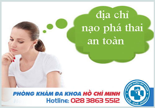 Phòng khám Đa khoa TPHCM là địa chỉ phá thai an toàn uy tín nhất