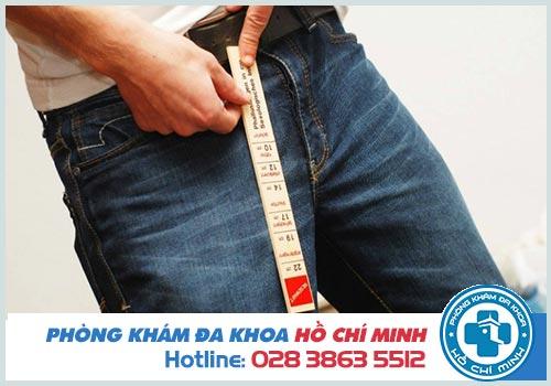 Dương vật dài bao nhiêu là chuẩn ở người Việt Nam?