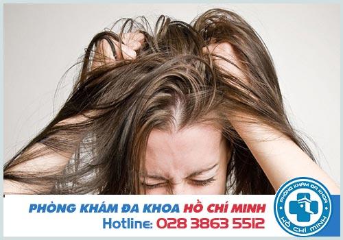 Ghẻ da đầu Nguyên nhân  Hình ảnh  Thuốc điều trị