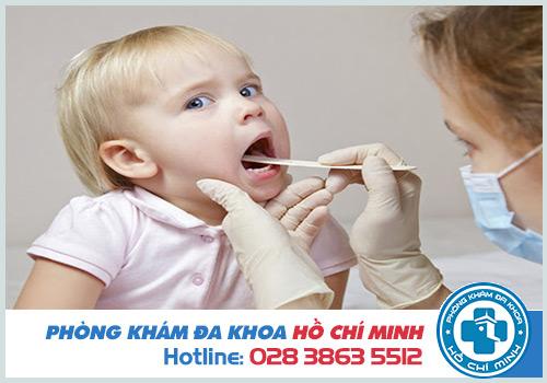 Hình ảnh viêm họng mủ ở người lớn và trẻ em