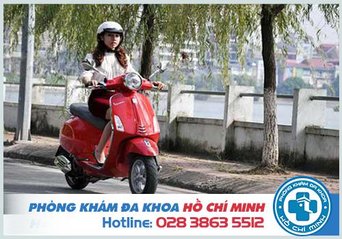 Hút thai bao lâu thì đi được xe máy và làm việc bình thường