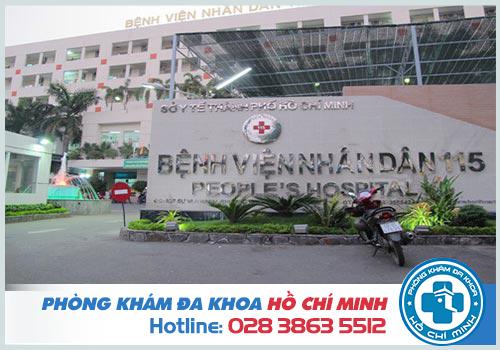 Khám nam khoa bệnh viện 115 có tốt không