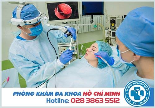 Phẫu thuật cắt polyp mũi giá bao nhiêu tiền tại TPHCM?