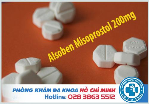Thuốc Alsoben Misoprostol 200mg là gì và có tác dụng phụ gì