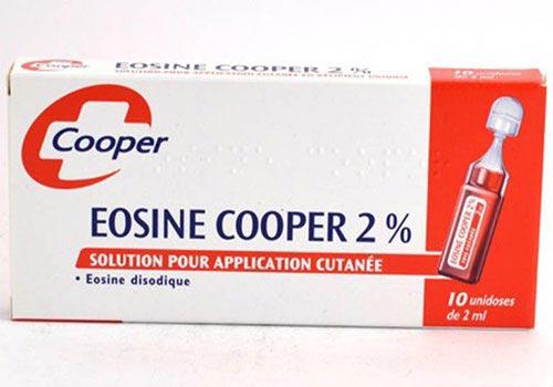 Thuốc bôi Eosine: Công dụng, Liều lượng, Cách sử dụng