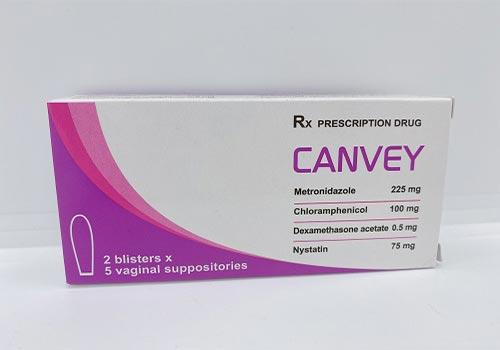 Thuốc đặt Canvey: Công dụng, Liều lượng, Cách sử dụng