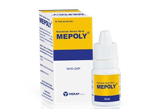 Thuốc Mepoly: Công dụng, Liều lượng, Cách sử dụng