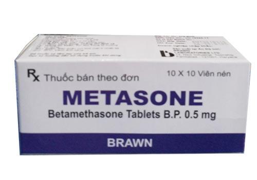Thuốc Metasone: Công dụng, Giá bao nhiêu, Cách sử dụng