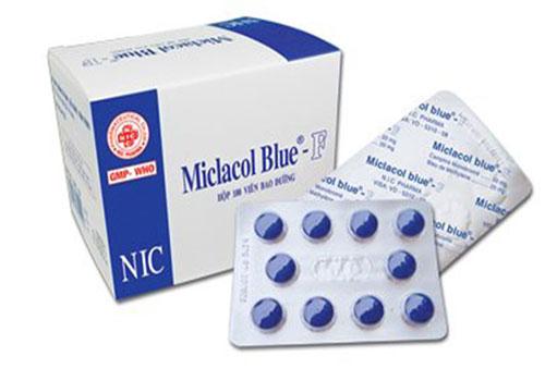 Thuốc Mictasol Bleu - Là thuốc gì, Giá, Liều dùng