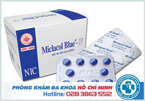 Thuốc Mictasol Bleu: Thuốc chữa viêm đường tiết niệu màu xanh