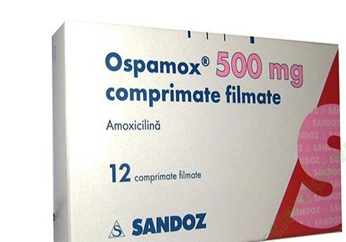 Thuốc Ospamox: Công dụng, Liều lượng, Cách sử dụng