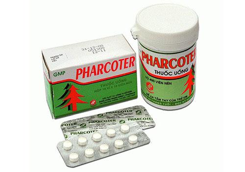 Thuốc Pharcoter - Là thuốc gì, Giá, Liều dùng