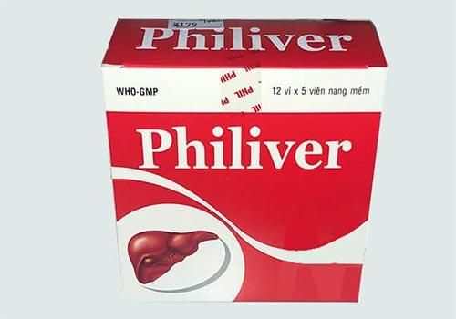 Thuốc Philiver: Công dụng, Giá bao nhiêu, Cách sử dụng