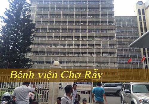 Tổng đài đăng ký khám bệnh bệnh viện Chợ Rẫy