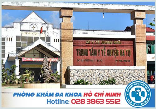 Top 10 Phòng khám Nam Khoa ở Quảng Ngãi có bác sĩ nam khoa giỏi