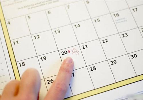 Trễ kinh 3 ngày có thai không có bị gì không?