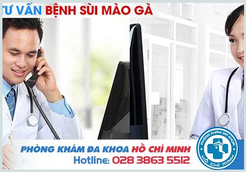 Tư vấn bệnh sùi mào gà online miễn phí qua điện thoại