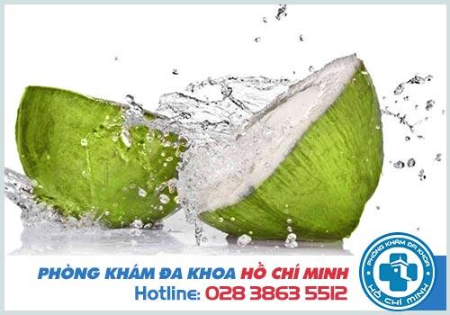 Uống nước dừa có tác dụng gì cho sức khỏe?