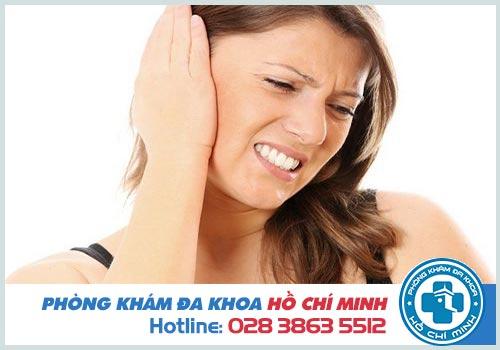 Viêm tai giữa chảy máu nguy hiểm không?