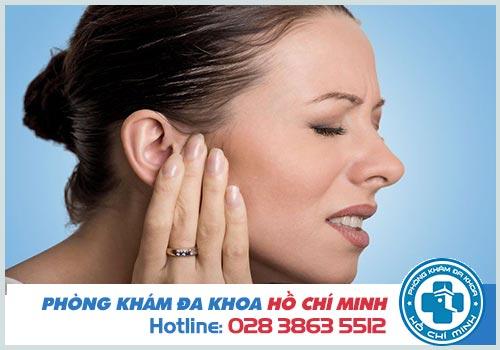 Viêm tai giữa có mủ ở người lớn nguy hiểm không?