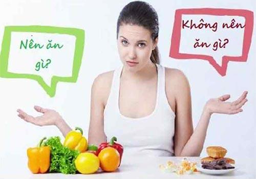 Viêm tuyến bartholin kiêng ăn gì và ăn gì?